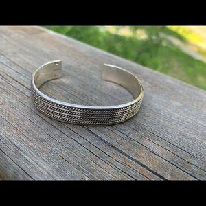 Sterling Silver Stacking Bracelet